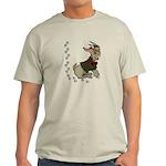 Cute Cartoon Boy Goat Light T-Shirt