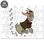 Cute Cartoon Boy Goat Puzzle