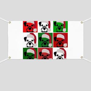 New Warhol Santa hat Banner