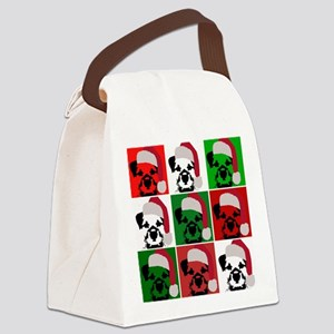 New Warhol Santa hat Canvas Lunch Bag