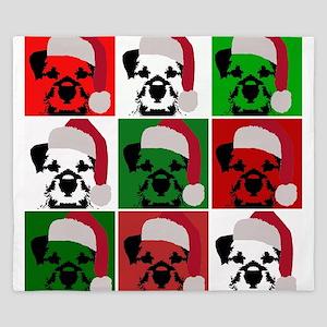 New Warhol Santa hat King Duvet