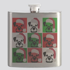 New Warhol Santa hat Flask