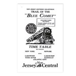 The Blue Comet Postcards (Package of 8)