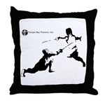 Tampa Bay Fencers Throw Pillow