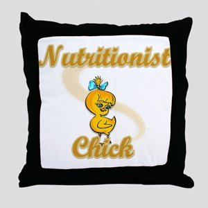 Nutritionist Chick #2 Throw Pillow