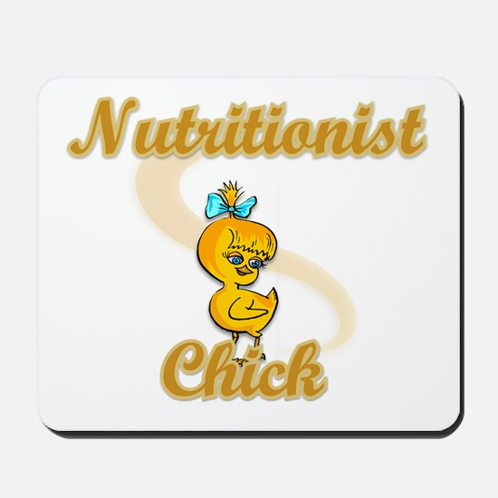 Nutritionist Chick #2 Mousepad