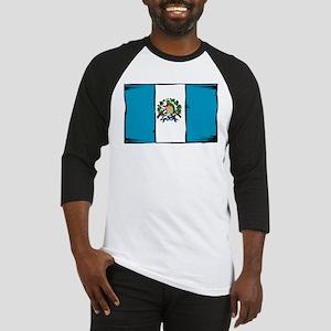 Guatemala Flag Baseball Jersey