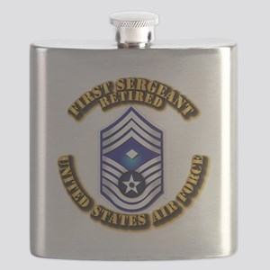 USAF - 1stSgt (E9) - Retired Flask