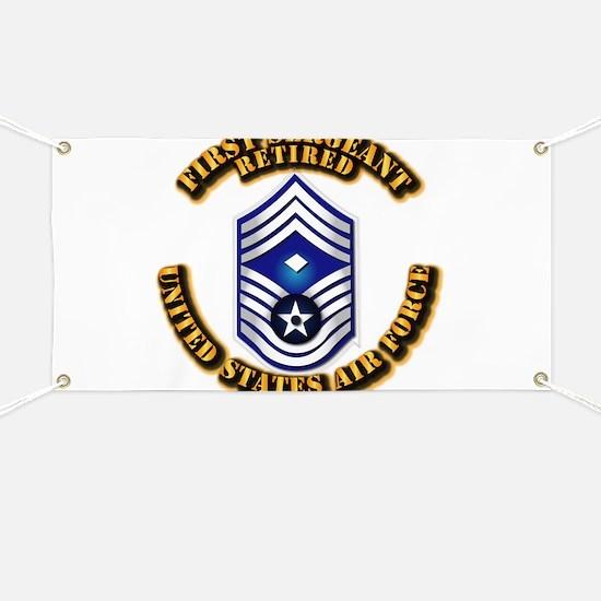 USAF - 1stSgt (E9) - Retired Banner