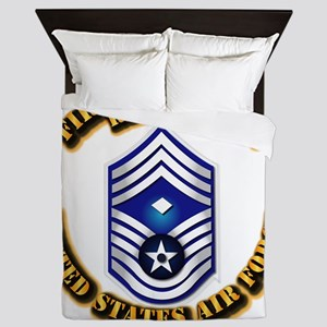 USAF - 1stSgt (E9) - Retired Queen Duvet