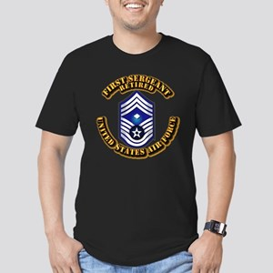 USAF - 1stSgt (E9) - Retired Men's Fitted T-Shirt