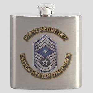 USAF - 1stSgt (E9) Flask