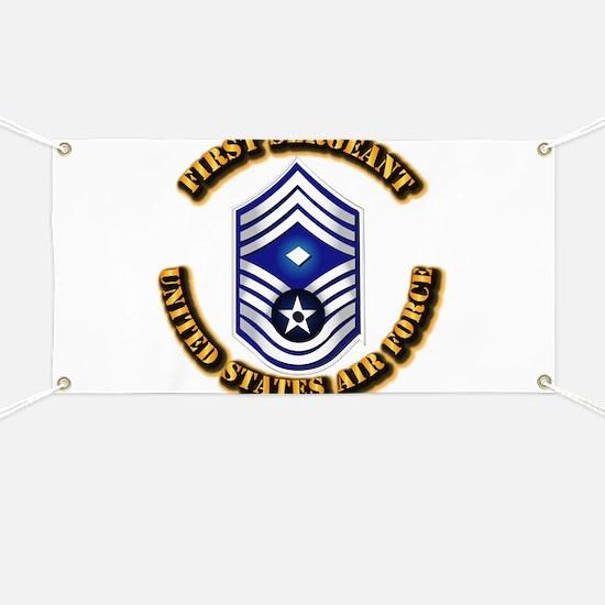 USAF - 1stSgt (E9) Banner