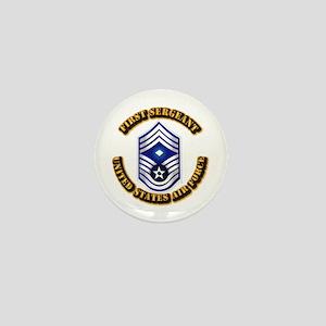 USAF - 1stSgt (E9) Mini Button