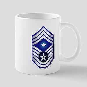 USAF - 1stSgt (E9) - No Text Mug