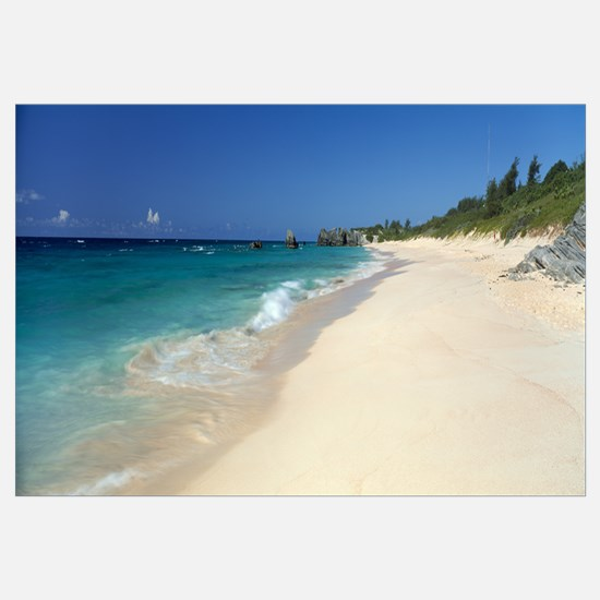 Horseshoe Bay Beach Bermuda Wall Art Cafepress
