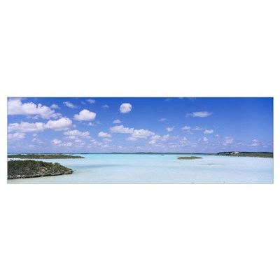 Chalk Sound Providenciales Turks and Caicos Poster
