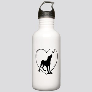 Dog Butterfly Stainless Water Bottle 1.0L