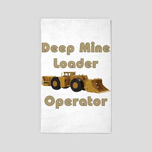 Deep Mine Loader 3'x5' Area Rug