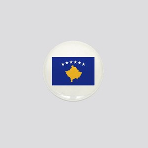 Kosovo flag Mini Button