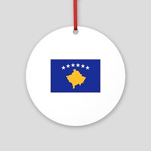 Kosovo flag Ornament (Round)