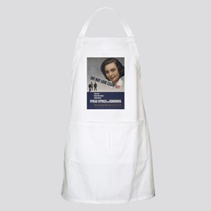 She May look... BBQ Apron