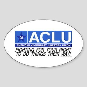 ACLU Oval Sticker