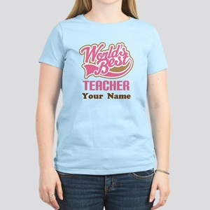 Personalized Teacher Women's Light T-Shirt