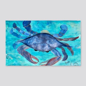Blue Crab 3'x5' Area Rug