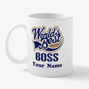 Personalized Boss Mug