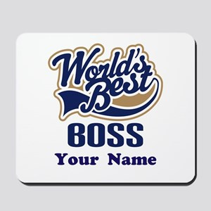 Personalized Boss Mousepad