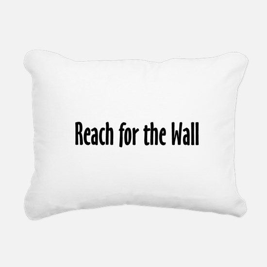 Swim Slogan Rectangular Canvas Pillow