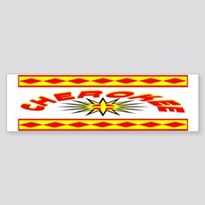 CHEROKEE INDIAN Sticker (Bumper)