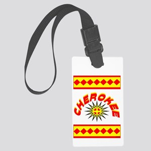 CHEROKEE INDIAN Large Luggage Tag
