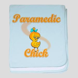 Paramedic Chick #2 baby blanket