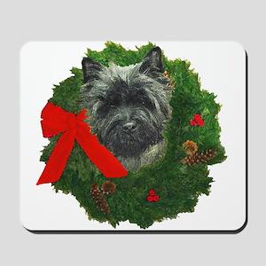 Cairn at Christmas Mousepad