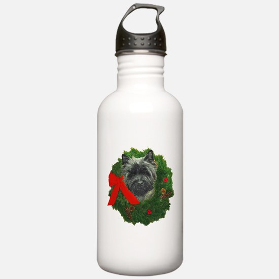 Cairn at Christmas Water Bottle