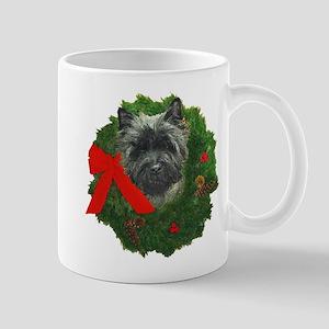Cairn at Christmas Mug