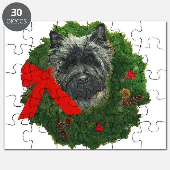 Cairn at Christmas Puzzle