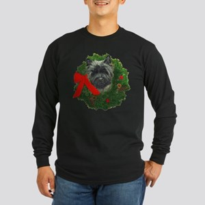 Cairn at Christmas Long Sleeve Dark T-Shirt