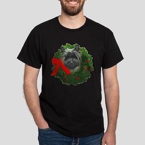 Cairn at Christmas Dark T-Shirt