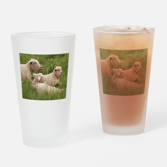 Content Family Drinking Glass