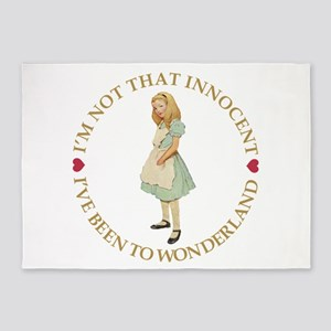 I'm Not That Innocent 5'x7'Area Rug