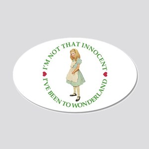 I'm Not That Innocent 20x12 Oval Wall Decal