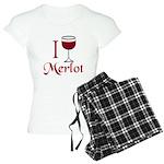 Merlot Drinker Women's Light Pajamas