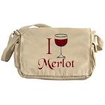 Merlot Drinker Messenger Bag