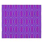 Retro Purple Pattern King Duvet