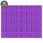 Retro Purple Pattern Puzzle