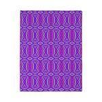 Retro Purple Pattern Twin Duvet