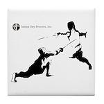 Tampa Bay Fencers Tile Coaster